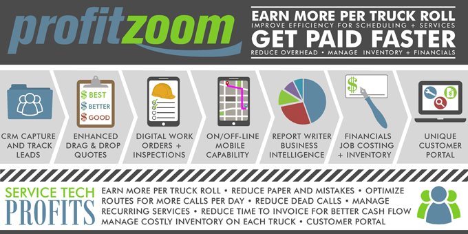 ProfitZoom - Earn More Per Truck Roll - Get Paid Faster